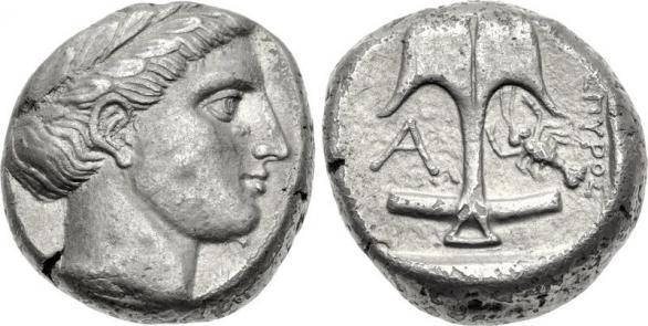 Автентични, редки и скъпи монети от Apollonia Pontica (Созопол) 3
