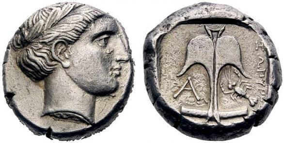 Автентични, редки и скъпи монети от Apollonia Pontica (Созопол) 4