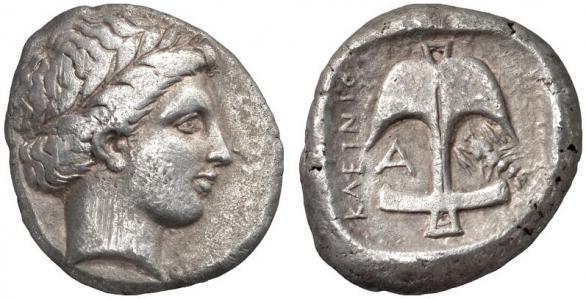 Автентични, редки и скъпи монети от Apollonia Pontica (Созопол) 10