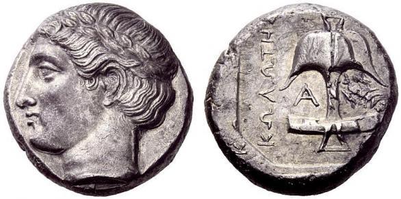 Автентични, редки и скъпи монети от Apollonia Pontica (Созопол) 11