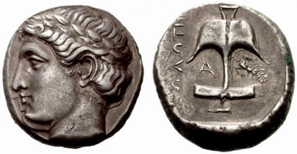Автентични, редки и скъпи монети от Apollonia Pontica (Созопол) 12