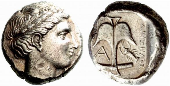 Автентични, редки и скъпи монети от Apollonia Pontica (Созопол) 15