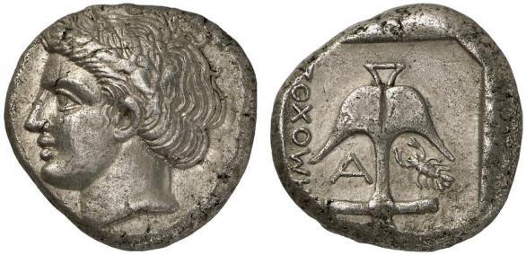 Автентични, редки и скъпи монети от Apollonia Pontica (Созопол) 14